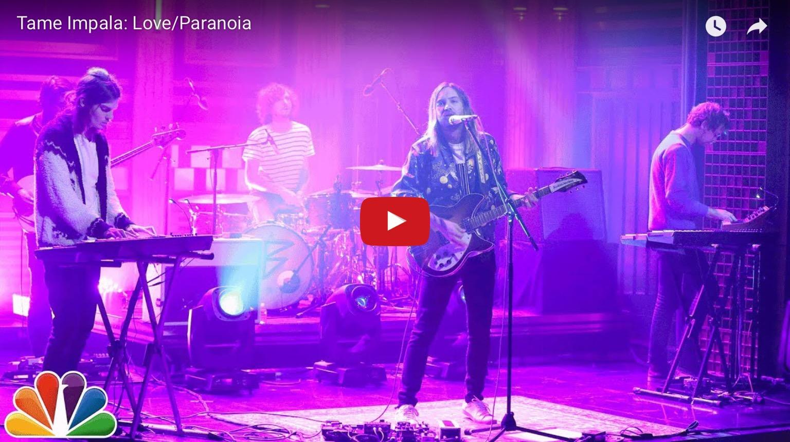 Tame Impala : Love/Paranoïa